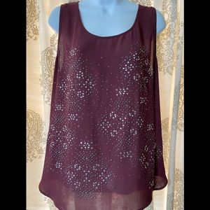 Juicy couture Embellished tank!